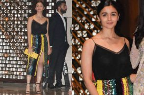 Alia Bhatt at the Ambani bash
