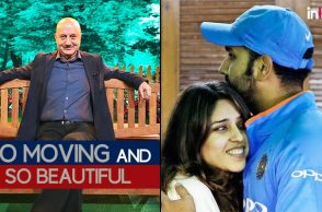 'So moving and so beautiful': Anupam Kher on Rohit Sharma-Ritika Sajdeh's chemistry
