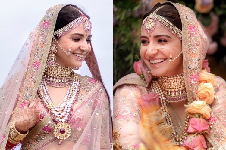 Here's how you can recreate Anushka Sharma's 'no-makeup' bridal look