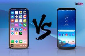 Apple iPhone, Samsung Galaxy