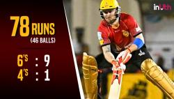 Brendon McCullum hits 3 sixes in 4 balls, scores 46-ball 78 including 9 sixes in BPL 2017 qualifier — WATCH