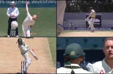 Nathan Lyon. Stuart Broad, Nathan Lyon injured, Stuart Broad bouncer, Stuart Broad deadly bouncer, Ashes 2017-18, Ashes 2017 accidents, Australia vs England 2017, Stuart Broad breaks helmet