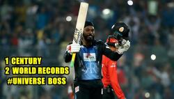 Chris Gayle creates World Record of most sixes in an innings, creates history in BPL 2017 final — WATCH