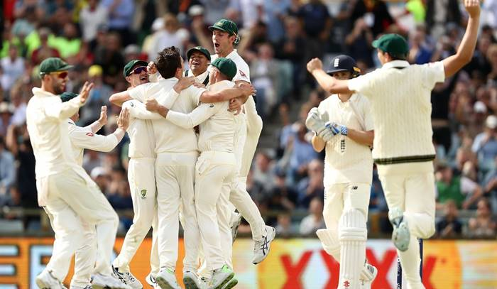 Australia win Ashes 2017-18, beat England by an innings and 41 runs in 3rd Test atPerth