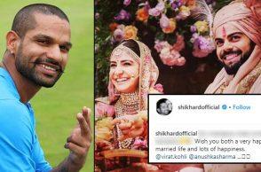 Shikhar Dhawan wishes Virat Kohli