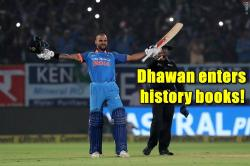 Shikhar Dhawan becomes 6th fastest to 4,000 ODI runs, surpasses Gordon Greenidge's 29-year-old feat