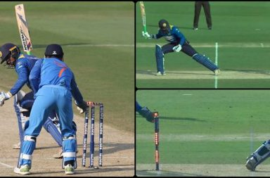 MS Dhoni's clever stumping removes Upul Tharanga on 95, becomes turning point of the game -- WATCH