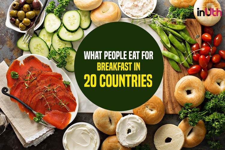 What people eat for breakfast in 20 countries