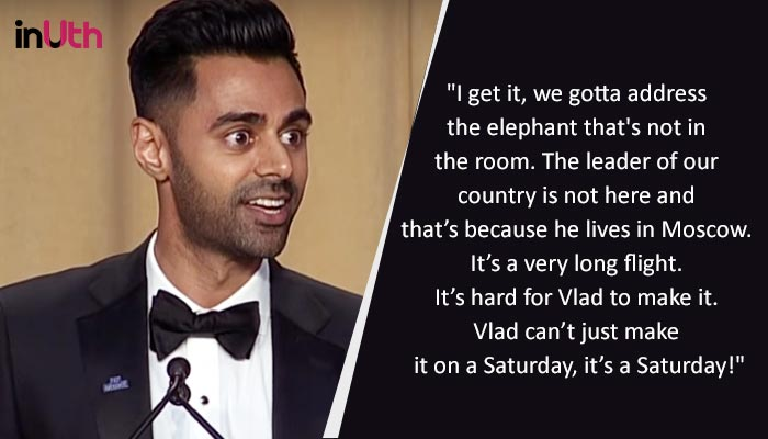 Hasan Minhaj, Hasan Minhaj White House Correspondents Dinner