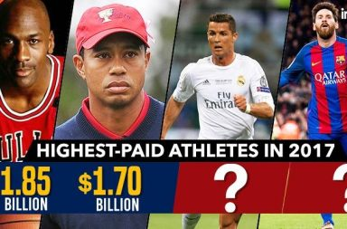 25 highest-paid athletes of all time