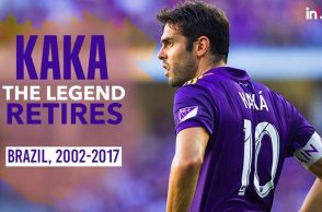 Brazilian star Kaka retires