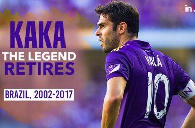 Brazilian star Kaka retires