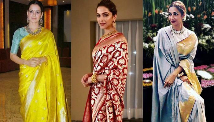 7 Must Have Benarasi Handloom Sarees In Every Bride S Wardrobe This Wedding Season