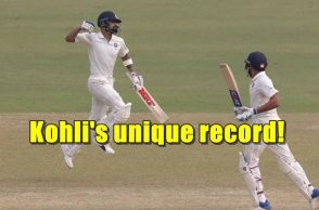 Virat Kohli record, Virat Kohli double century records, Highest individual score in Delhi, Test cricket records, Bert Sutcliffe, Vinod Kambli, Gautam Gambhir