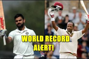 Virat Kohli, Brian Lara, Most double tons as captain, Most Test centuries for an India, Most double tons in Test cricket captain, Virat Kohli double centuries, Test records, Brian Lara Test records, Virat Kohli's new world record