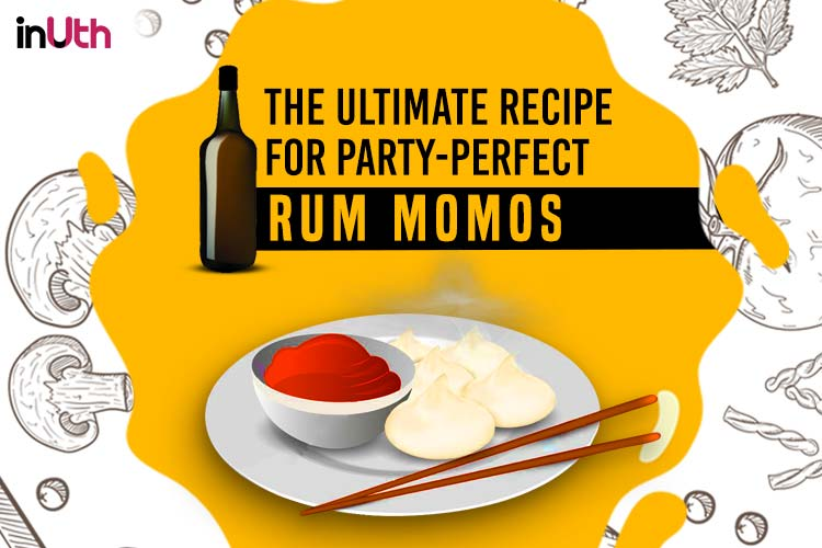 Treat yourself to rum momos you can easily make at home