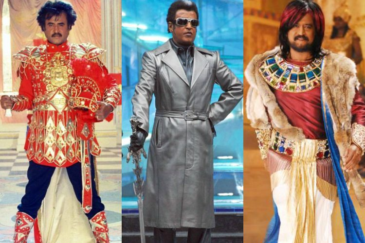 5 outfits that only Rajinikanth could have carriedoff