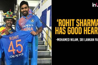Rohit Sharma helps Sri Lankan cricket fan with air ticket to return home for father's surgery