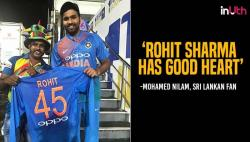 Rohit Sharma sponsors Sri Lankan fan's air ticket so that could attend his ailing father