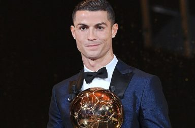 Cristiano Ronaldo equals Lionel Messi's record, lifts trophy for fifth time