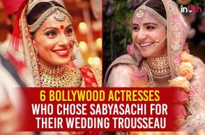 Bollywood actresses who chose Sabyasachi for their wedding trousseau