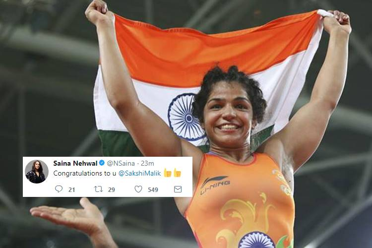 Sakshi Malik wins gold medal in Commonwealth Wrestling Championships, here's how Twitterati reacted