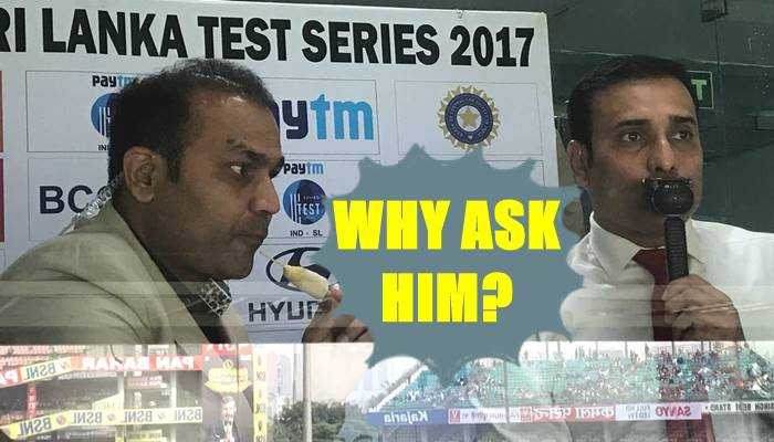 Virender Sehwag trolls Wridhiman Saha, says consulting him for DRS is waste of time