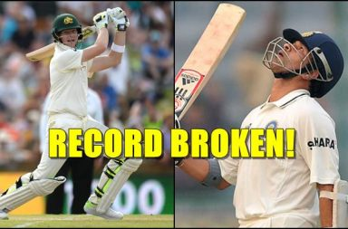 Steven Smith Test records, Fastest to 22 Test centuries, Sachin Tendulkar, Don Bradman, Sunil Gavaskar, Fastest to 22 Test tons, Australia vs England 3rd Test, Perth Test, Ashes 2017-18