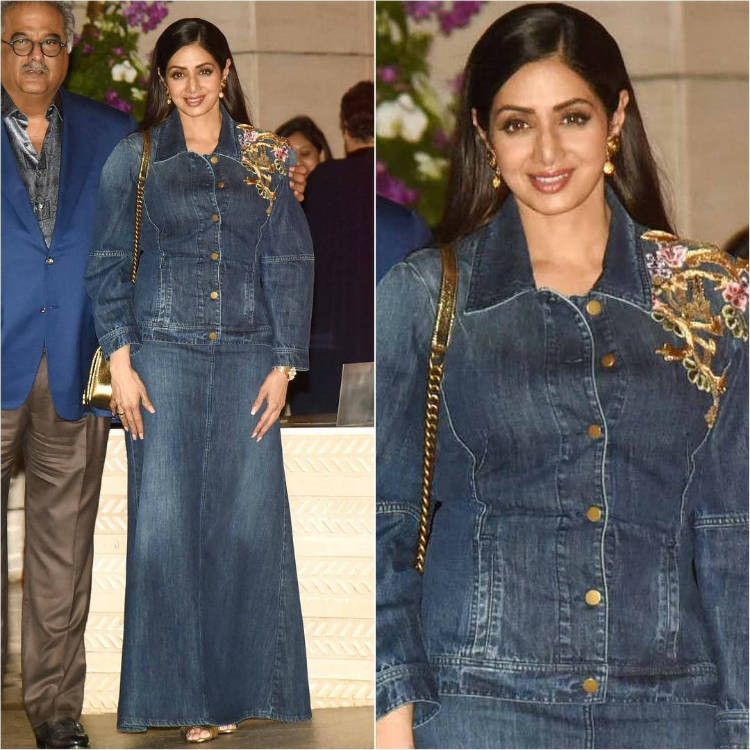 Sridevi at the Ambani bash