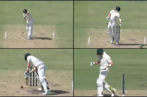 Steven Smith, Craig Overton, Steven Smith helmet, Craig Overton bouncer, Ashes 2017-18 deadly bouncer, bouncer on Perth, Perth Test