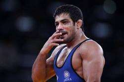 Sushil Kumar wins gold medal in Commonwealth Wrestling Championship on international comeback