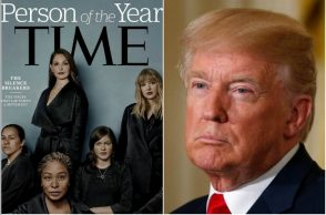 Time Person of the Year, Me Too, Donald Trump, Ashley Judd, Alyssa Milano, Harvey Weinstein