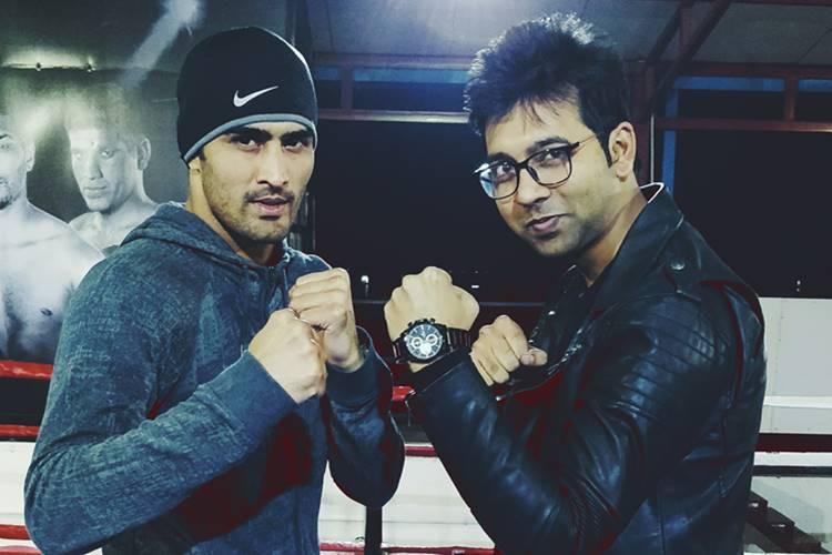 Vijender Singh, Vijender Singh fan, Vijender Singh vs Ernest Amuzu, World Boxing, Rajasthan Rumble, Vijender Singh 2017 bouts, Vijender Singh coach, Lee Beard, John Joyce