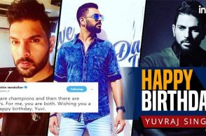 Happy Birthday Yuvraj Singh: Sachin, Sehwag and others wish 2011 WC hero on Twitter