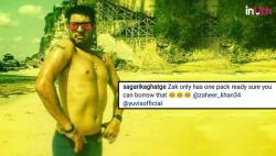 'Birthday Boy' Yuvraj Singh posts shirtless photo, Sagarika Ghatge gets the best tweet tag!