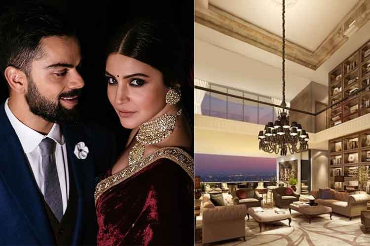 In Pics: Virat Kohli and Anushka Sharma's new home in Mumbai