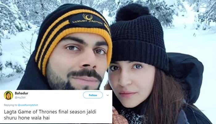 'Ye itne White Kaise Ho Gaye': Twitter digs for truth behind this viral pic of Virat Kohli and Anushka Sharma