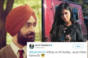 Diljit Dosanjh, Kylie Jenner | Photo created for InUth.com