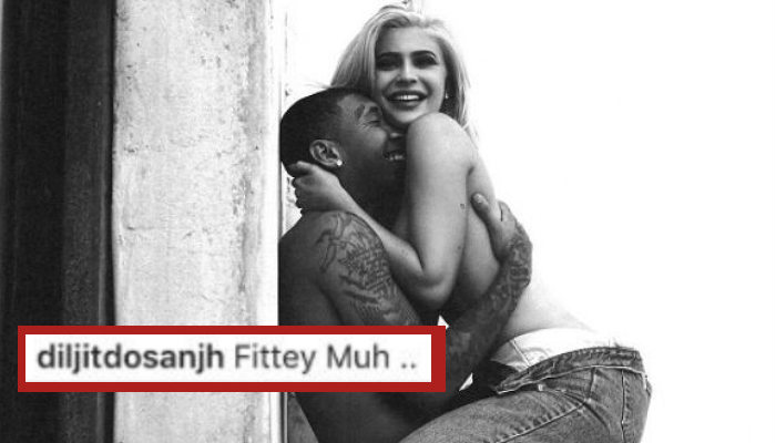 Diljit Dosanjh's comment on Kylie Jenner's photo | Photo for InUth.com