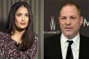 Salma Hayek, Harvey Weinstein, Harvey Weinstein Sexual Harassment, Harvey Weinstein Miramax, Salma Hayek sexual harassment allegation, Salma Hayek Frida Kahlo biopic, Salma Hayek Oscar Best Actor