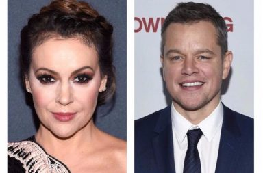 Alyssa Milano, Matt Damon, Matt Damon sexual harassment, Alyssa Milano Matt Damon, Harvey Weinstein, #MeToo, Matt Damon Harvey Weinstein, Hollywood sexual assault,