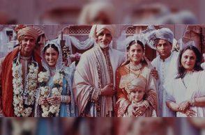 Kabhi Khushi Kabhie Gham, Amitabh Bachchan, Shah Rukh Khan, Kajol, Kareena Kapoor, Hrithik Roshan, Jaya Bachchan | Photo created for InUth.com