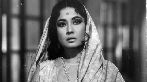 Meena Kumari (Indian Express photo)