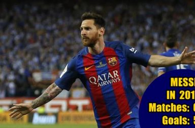 #Yearender2017: With 54 goals, Lionel Messi rules football; Ronaldo at Number 2