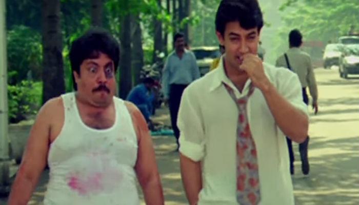 Neeraj Vora and Aamir Khan in Mann