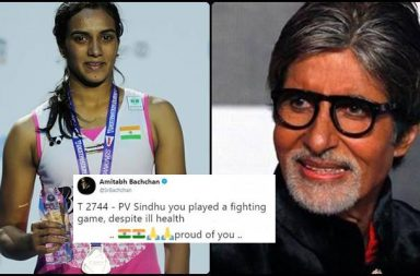 'Despite ill health you played fighting game, proud of you': Amitabh Bachchan after PV Sindu's loss