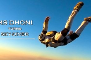 MS Dhoni Instagram, MS Dhoni Instagram photos, MS Dhoni skydiving, MS Dhoni skydiving photos, MS Dhoni trips, MS Dhoni adventure photos