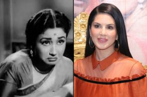Sunny Leone and Meena Kumari | Photo created for InUth.com