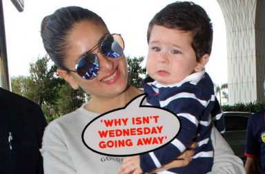 In pics: Week explained in Taimur Khan's cute expressions