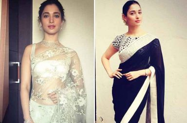 Birthday girl Tamannaah Bhatia in a saree is a sight to behold
